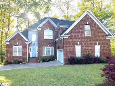 Simpsonville Single Family Home For Sale: 408 Abercorn