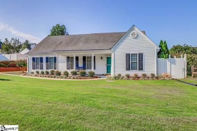Easley Single Family Home Contingency Contract: 109 Tortuga