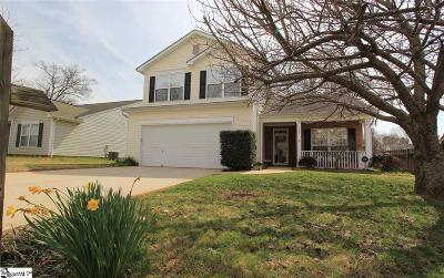 Greenville County Single Family Home For Sale: 102 Ridgebrook