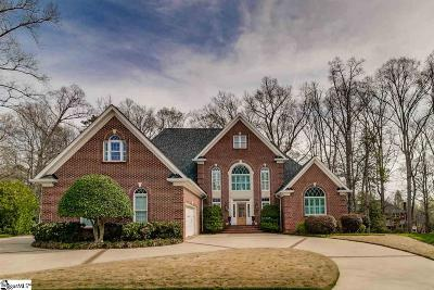 Simpsonville Single Family Home Contingency Contract: 9 Somerleaf