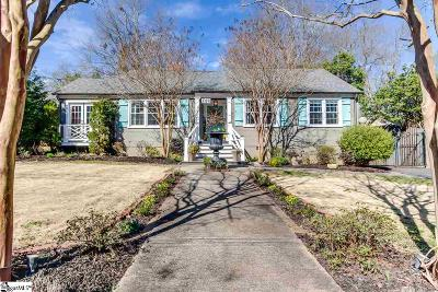 Greenville Single Family Home For Sale: 108 Wilshire