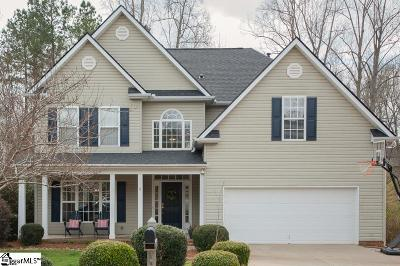 Simpsonville Single Family Home Contingency Contract: 6 Dapple Gray