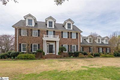 Spartanburg Single Family Home For Sale: 252 Carolina Club