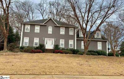 Easley Single Family Home For Sale: 201 Tulip Tree