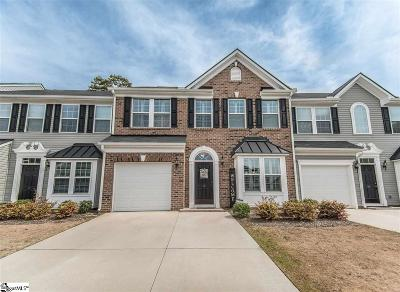 Greenville County Condo/Townhouse For Sale: 12 Fairchild
