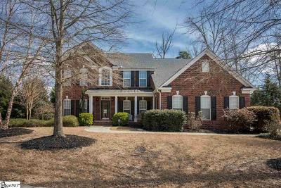 Greer Single Family Home Contingency Contract: 132 Hammett Pond