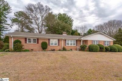 Piedmont Single Family Home For Sale: 511 Piedmont Golf Course
