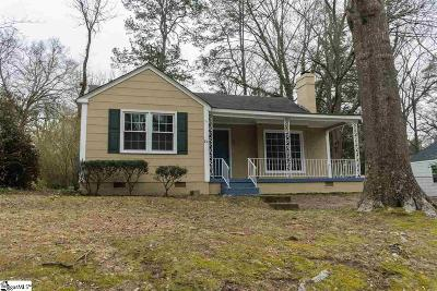 Spartanburg Single Family Home For Sale: 251 Briarcliff