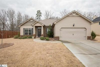 Simpsonville Single Family Home For Sale: 624 Powdermill