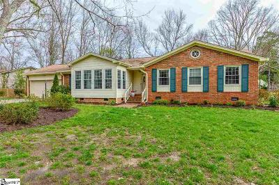 Simpsonville Single Family Home For Sale: 405 Aster