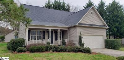 Greenville Single Family Home For Sale: 104 Rocky Chase
