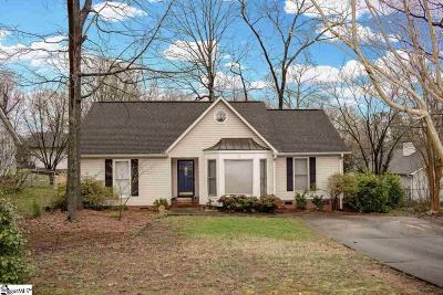 Greenville County Single Family Home For Sale: 13 Hillrose