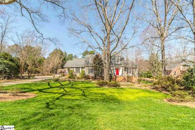 Greenville Single Family Home Contingency Contract: 28 Craigwood
