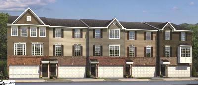 Greenville SC Condo/Townhouse For Sale: $328,990
