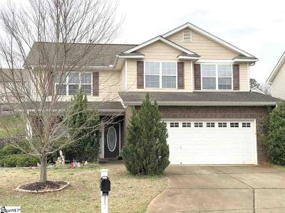 Simpsonville Single Family Home For Sale: 115 Scottish