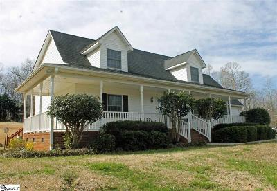 Travelers Rest Single Family Home For Sale: 107 Boswell