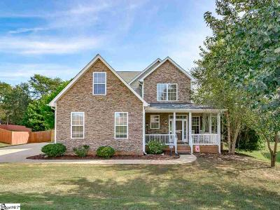 Greer Single Family Home For Sale: 217 Glastonbury