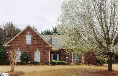 Greer Single Family Home Contingency Contract: 612 Meadow Grove