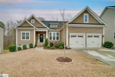 Simpsonville Single Family Home For Sale: 328 Leigh Creek