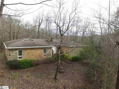 Single Family Home For Sale: 628 Holly Springs School