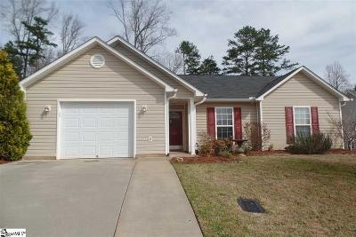 Easley Single Family Home For Sale: 204 Fledgling