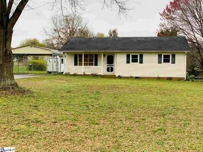 Boiling Springs Single Family Home Contingency Contract: 109 Hazel