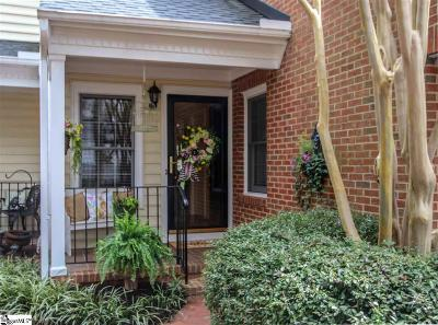 Greenville Condo/Townhouse For Sale: 1274 Shadow