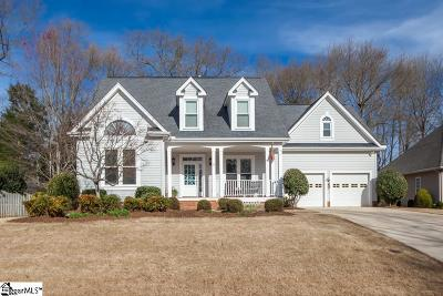 Simpsonville Single Family Home For Sale: 3 Rothessay