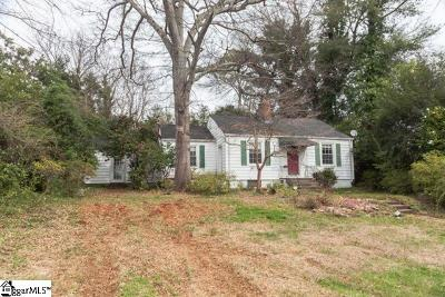 Greenville Single Family Home For Auction: 142 Buist
