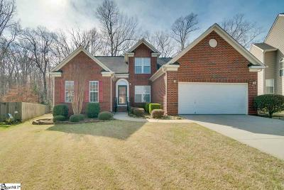 Simpsonville Single Family Home For Sale: 364 Amberleaf