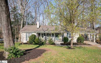 Single Family Home For Sale: 710 Parkins Mill