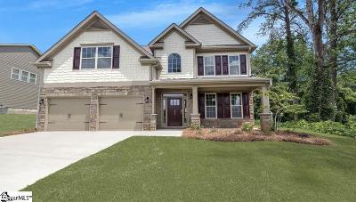 Greer Single Family Home For Sale: 105 Granito