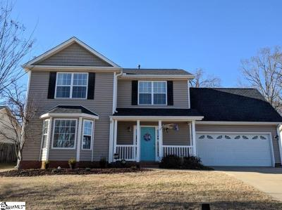 Greer Single Family Home For Sale: 103 Feldspar