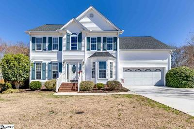 Simpsonville Single Family Home Contingency Contract: 23 S Penobscot