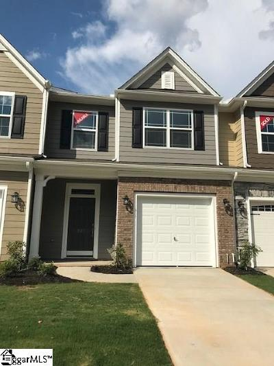 Simpsonville Condo/Townhouse For Sale: 827 Appleby #lot 107