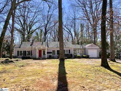 Spartanburg Single Family Home For Sale: 387 Forest