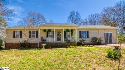 Pelzer Single Family Home For Sale: 120 Robinwood