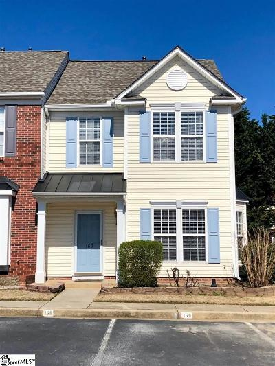 Greer Condo/Townhouse For Sale: 160 Spring Crossing