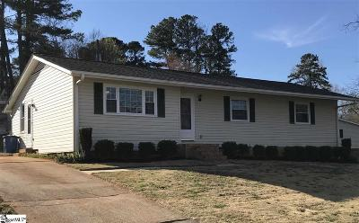 Easley Single Family Home Contingency Contract: 326 Jamestown