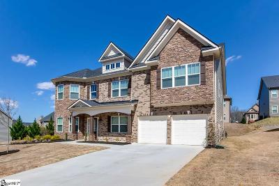 Greenville County Single Family Home For Sale: 1 Star Fish