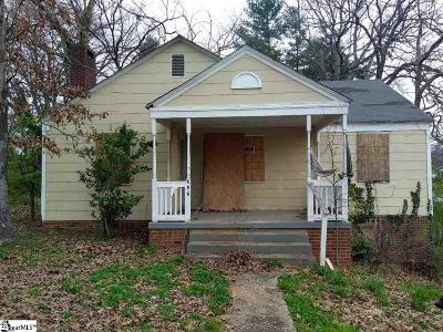 Spartanburg Single Family Home For Sale: 686 Saxon