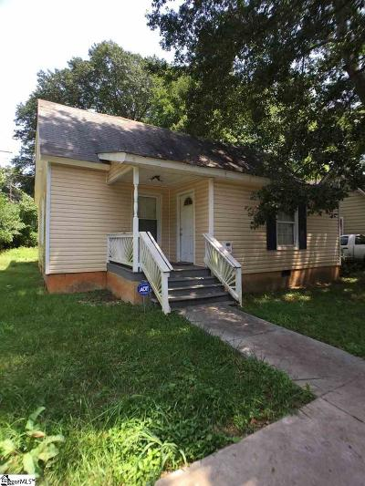 Greenville Single Family Home For Sale: 11 Gallon