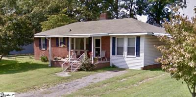 Easley Single Family Home For Sale: 118 Ruth