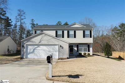 Greenville Single Family Home For Sale: 3 Deer Cross