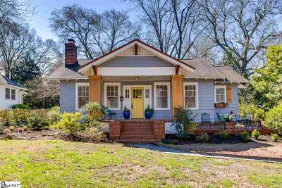 Greenville Single Family Home For Sale: 210 Tindal