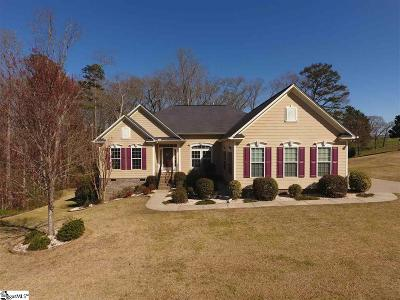 Simpsonville Single Family Home Contingency Contract: 60 Scotts Bluf