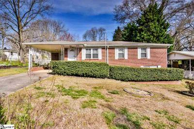 Mauldin Single Family Home For Sale: 115 Pleasant