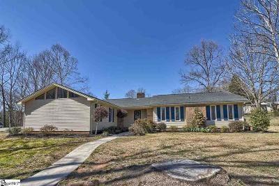 Easley Single Family Home For Sale: 106 Bent Tree