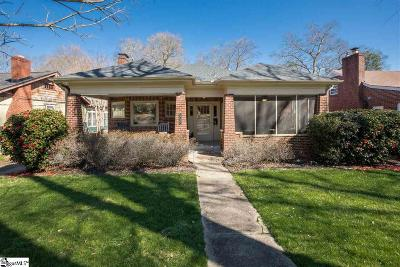 Greenville SC Single Family Home For Sale: $445,000