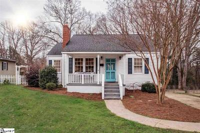 Greenville SC Single Family Home For Sale: $429,000